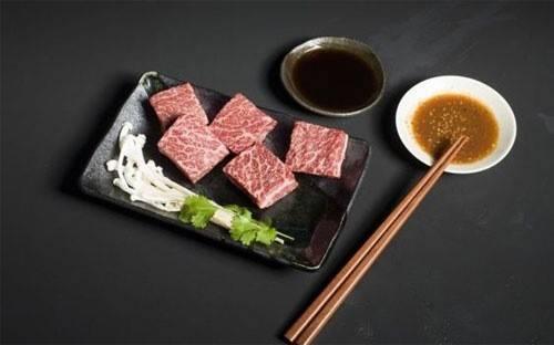 Những miếng thịt bò Wagyu thuần chủng từ một trang trại ở Australia.