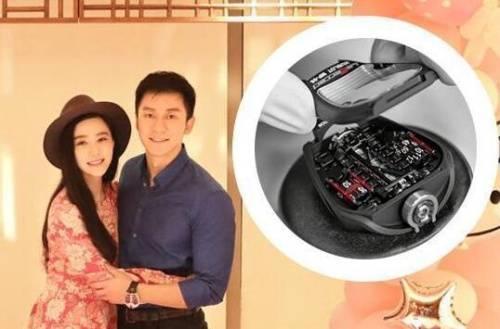 Chiếc đồng hồ Lý Thần sử dụng có giá 8,5 tỷ đồng.