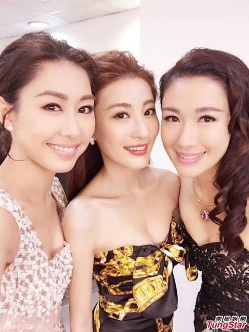 Ba kiều nữ Hồ Định Hân - Lâm Hạ Vy và Lý Thi Vận.