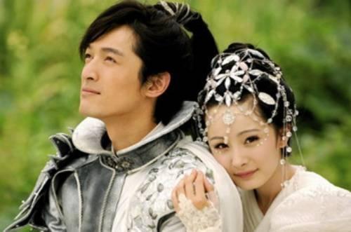 Dương Mịch và Hồ Ca trong phim Tiên kiếm kỳ hiệp truyện 3.