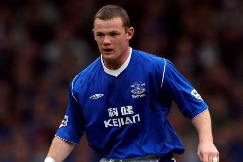 Rooney có khá nhiều niềm vui thời ở CLB Everton.