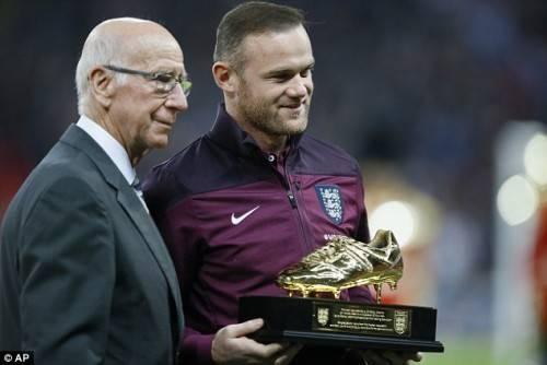 Rooney đã giành được vô số các danh hiệu cùng Quỷ đỏ