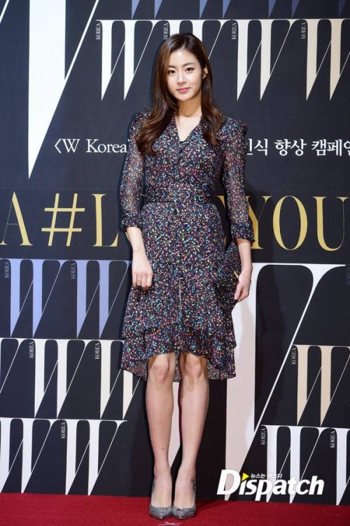 Kang So Ra nữ tính với bộ váy voan nhẹ nhàng.