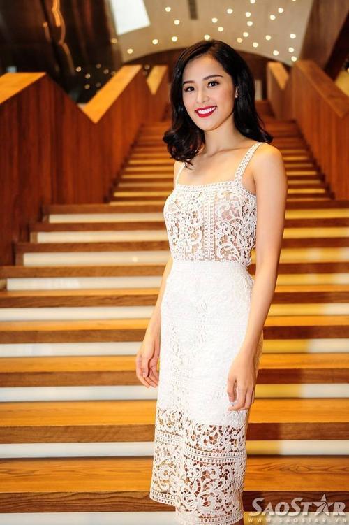 Người mẫu trẻ - diễn viên Hạ Vi.