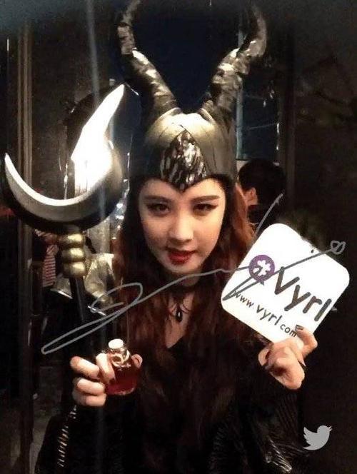 Em út nhóm SNSD Seohyun hóa thân thành Maleficent.