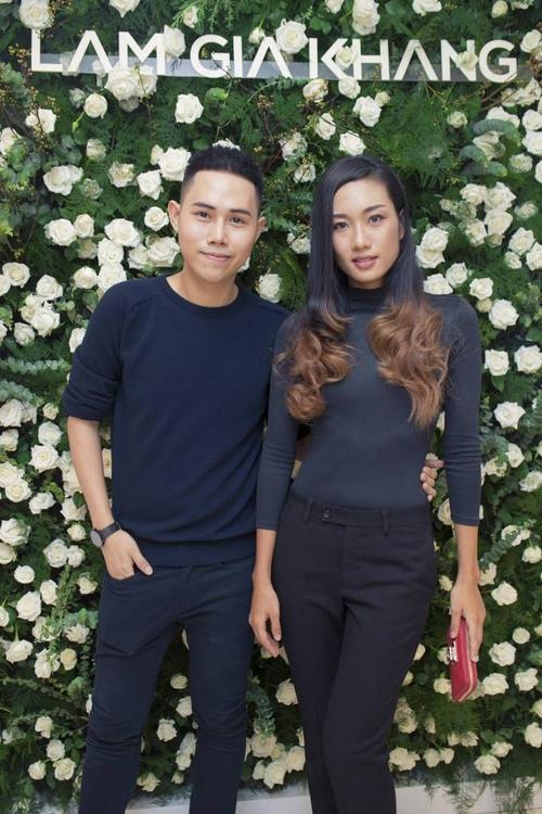 NTK Lâm Gia Khang và người mẫu Nhã Trúc.