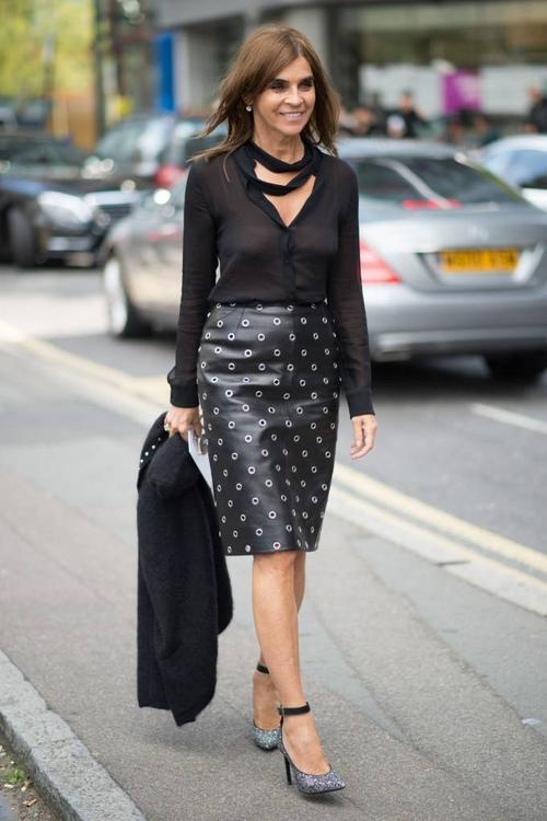 Tổng biên tập tạp chí Vogue Paris Carine Roitfeld