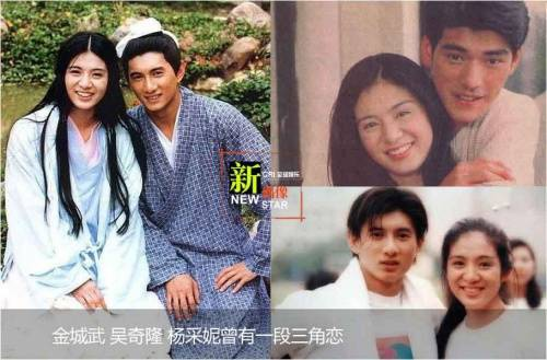 Dương Thái Ni và Kỳ Long cùng Kim Thành Vũ từng xảy ra tình tay ba.