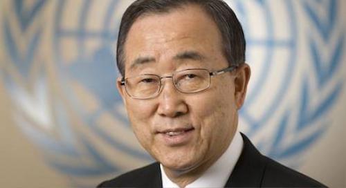 Tổng thư ký LHQ Ban Ki Moon