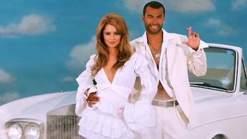 Cheryl và Cole thời còn mặn nồng bên nhau.