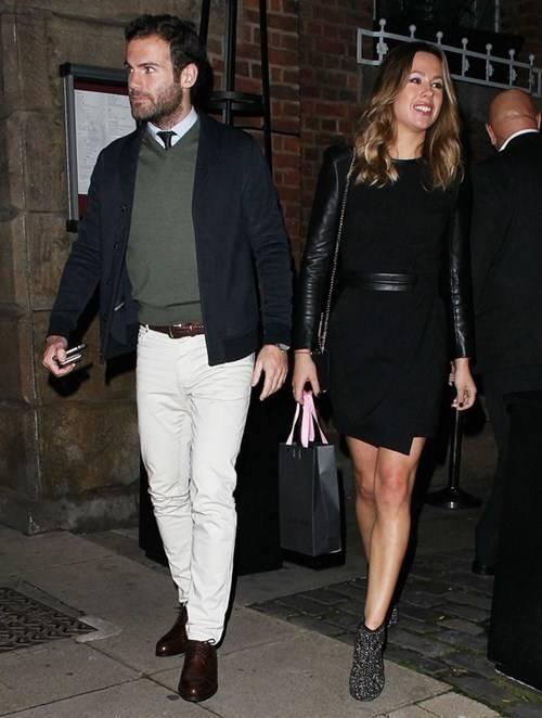 Vợ chồng Juan Mata