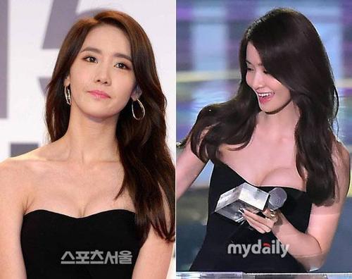 Vòng 1 quyến rũ của Yoona.