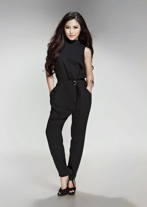 Nữ ca sĩ Hương Tràm.