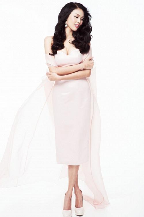 Hoa khôi Lan Khuê gửi đến Miss World phần giới thiệu bản thân bằng tiếng Anh.