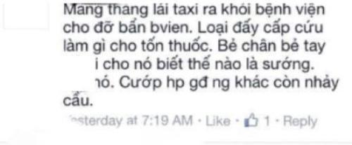 """Những lời buộc tội người lái taxi bằng những ngôn từ như """"thằng""""... khiến nhiều người phải giật mình."""