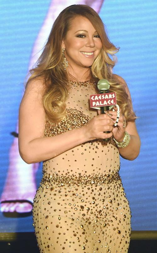 Mariah Carey cũng khiến các nhà làm show đau đầu.