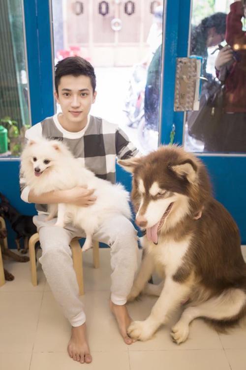 Lê Hoàng Duy, chủ nhân quán cà phê có bầy thú cưng bị kẻ gian hãm hại. (Ảnh: FBNV)