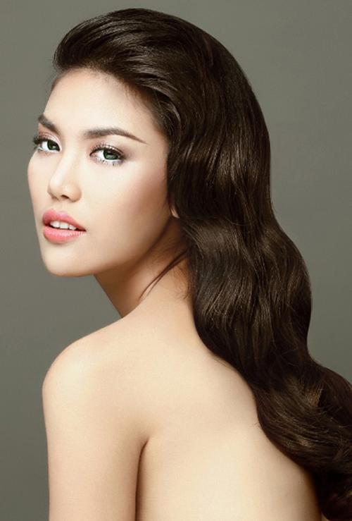 Vẻ đẹp gợi cảm của đại diện Việt Nam.