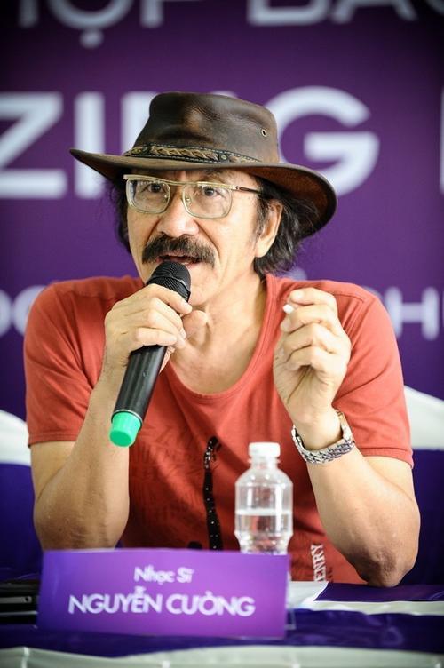 Nhạc sĩ Nguyễn Cường.