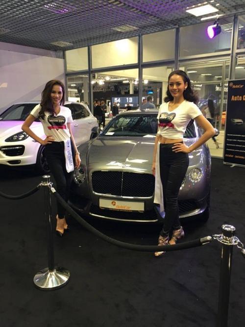 Le Quyen tham gia Motor Show (1)