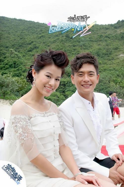 Hồ Hạnh Nhi và Huỳnh Tông Trạch.