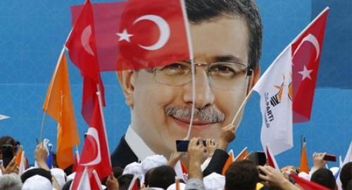 Thủ tướng Thổ Nhĩ Kỳ Ahmet Davutoglu. Ảnh: Sputnik.