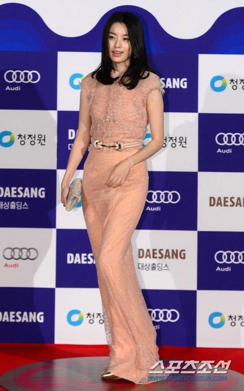 """Nàng """"Dong Yi"""" Han Hyo Joo trông khá khác lạ."""