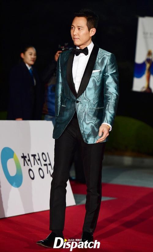 Tài tử Lee Jung Jae.