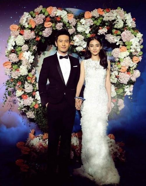 Huỳnh Hiểu Minh và Angela Baby.