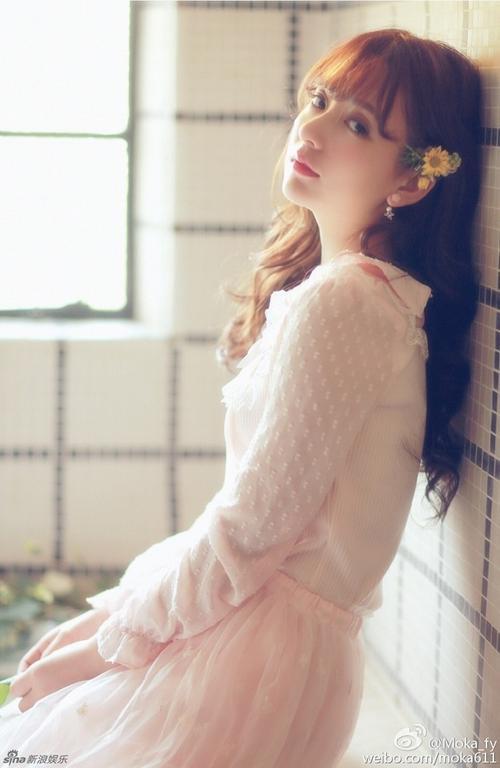 Vẻ đẹp thiên thần của Phương Viên.