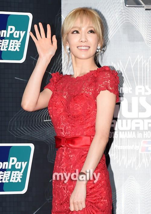 Đây là năm đầu tiên Taeyeon lẻ loi đến dự và khá hồi hộp khi trình diễn tại đây. Cô hy vọng sẽ được khán giả ủng hộ.