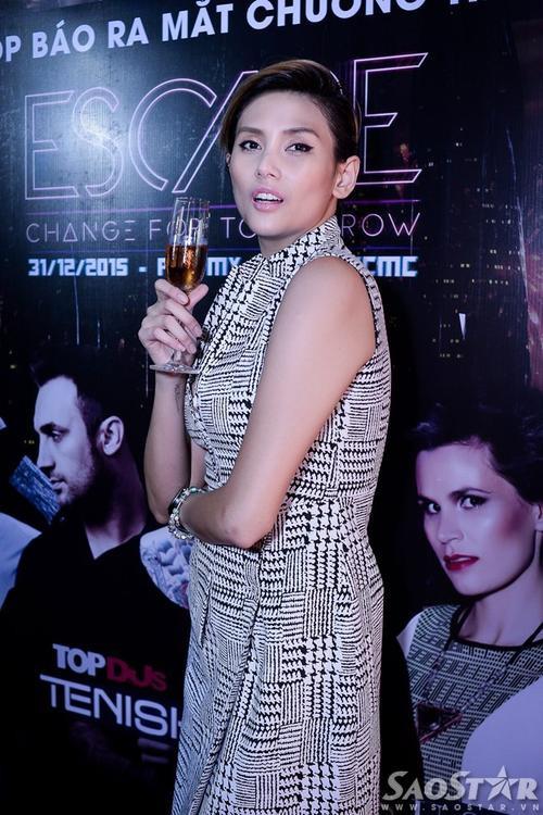 Siêu mẫu Hoàng Yến sẽ trình diễn DJ trong lễ hội âm nhạc The way music festival 2015 - Civilization Tour.