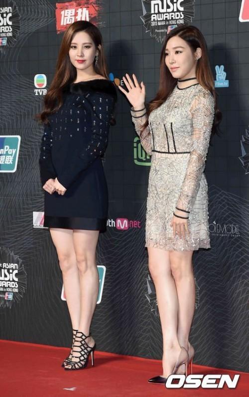 Hai thành viên Tiffany và Seohyun của nhóm nhạc này lại xuất hiện cùng nhau