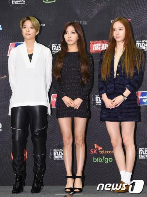 3 thành viên đại diện Amber, Luna, Krystal của nhóm nhạc F(x) mỗi người một vẻ với phong cách khác nhau