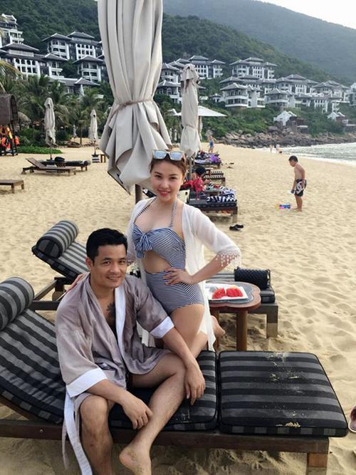 Quỳnh Thư đã chia tay với bạn trai 37 tuổi Dương Hoàng Điệp vì không hợp tính sau nửa năm yêu nhau.
