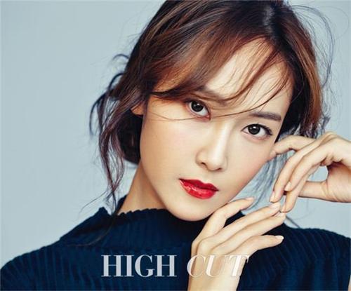 Jessica trên tạp chí High Cut số mới nhất.