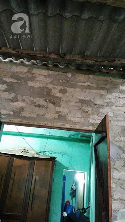 Căn nhà đơn sơ, thiếu trước hụt sau, chẳng có tài sản gì đáng giá của mẹ con cô Lâm.
