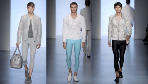 Muôn màu muôn vẻ của những chiếc quần leggings trên sàn diễn thời trang của các thương hiệu danh tiếng.