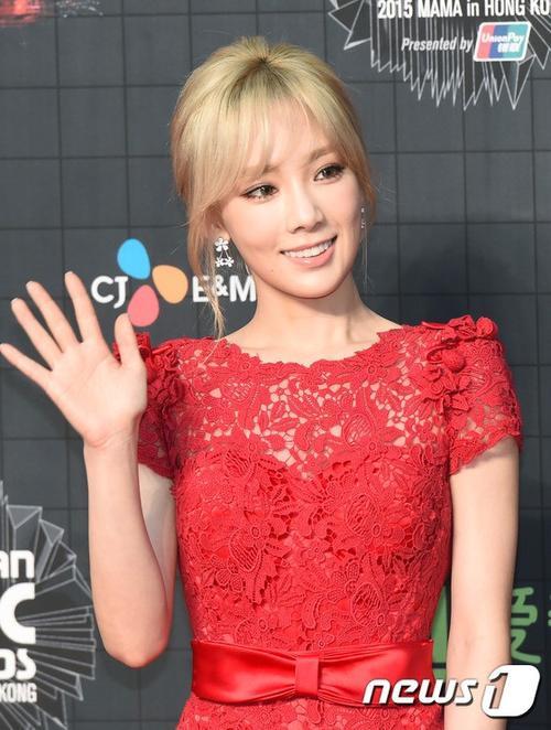 Taeyeon - giọng ca chủ lực của SNSD.