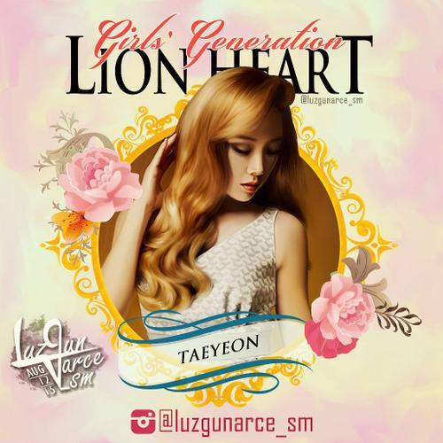 Taeyeon trong album Lion Heart của SNSD.