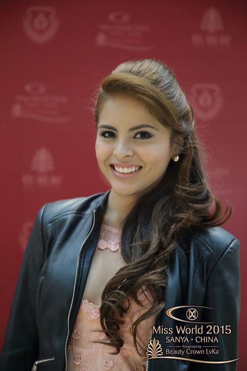 Chúng ta có thể tìm ra rất nhiều cô gái đại diện cho Nicaragua hơn là người đẹp này.