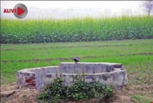"""Cái giếng mà ba kẻ """"yêu râu xanh"""" ném Poonam xuống. Ảnh: Times of India"""