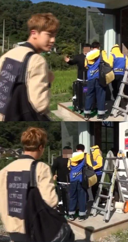 Hình ảnh trong đoạn clip quản lý dọa đánh thành viên BTS.