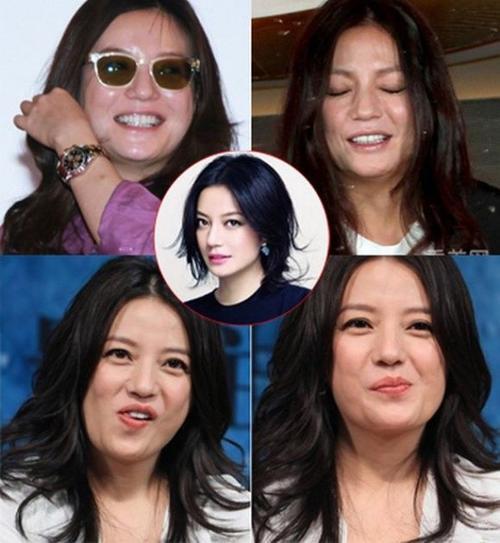 Triệu Vy từ vài năm trở lại gặp vấn đề về cân nặng. Đây cũng là lý do khiến cô kém sắc khi để mặt mộc so với trước kia.