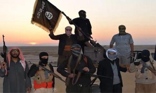 Các chiến binh của Nhà nước Hồi giáo tự xưng (IS).