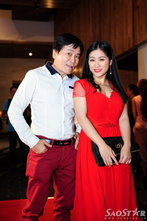 Vợ chồng nghệ sĩ hài Kiều Linh.