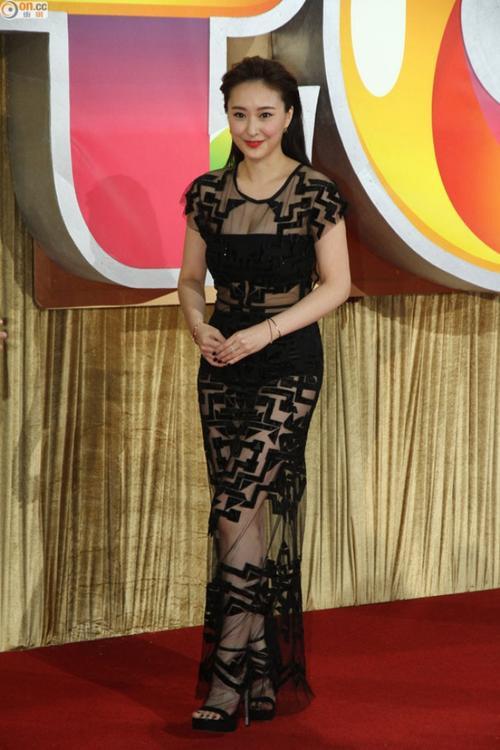 Cô bị coi là thảm họa của thảm đỏ TVB 2015.