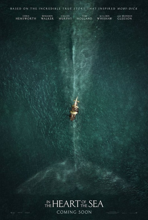 """""""In the heart of the sea"""" là tác phẩm mới nhất lấy cảm hứng từ quái thú đại dương,"""