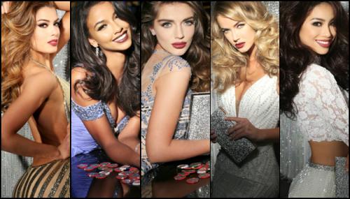 Top 5 người đẹp được đánh giá cao nhất.