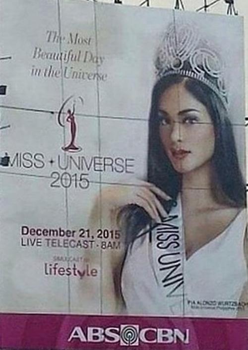 Rộ tin Hoa hậu Philippines đăng quang.